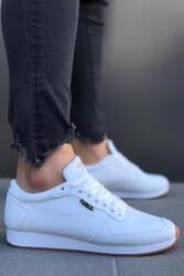 Pabucmarketi - Erkek Günlük Ayakkabı 002 Beyaz