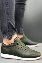 Pabucmarketi - Pabucmarketi Erkek Günlük Ayakkabı 002 Haki