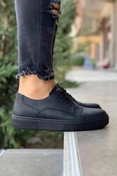Pabucmarketi - Pabucmarketi Erkek Günlük Ayakkabı 050 Siyah (Siyah Taban)