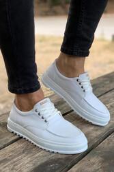 Pabucmarketi - Pabucmarketi Erkek Günlük Ayakkabı T12 Beyaz