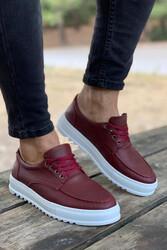 Pabucmarketi - Pabucmarketi Erkek Günlük Ayakkabı T12 Bordo