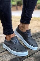 Pabucmarketi - Pabucmarketi Erkek Günlük Ayakkabı T12 Gri